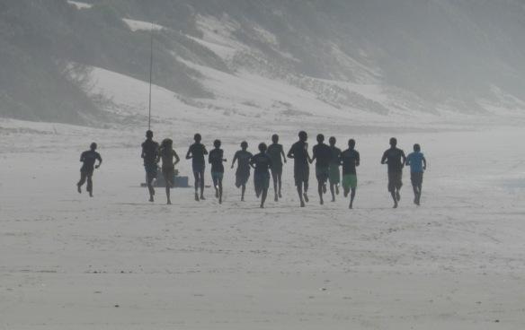 Warm up run
